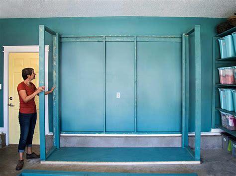 build oversized garage storage cabinets hgtv