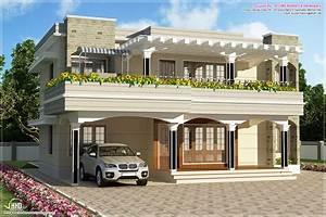 Modern flat roof villa in 2900 sq feet - Kerala home