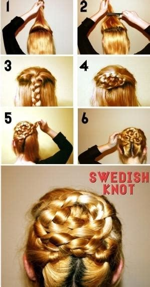 Swedish Knot   Hairstyles How To