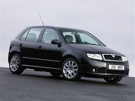 Skoda Fabia History Of Model Photo Gallery And List Of