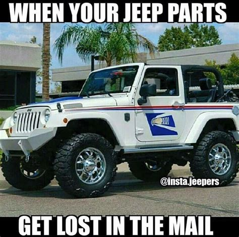 mail jeep lifted 111 best only mail carriers understand images on