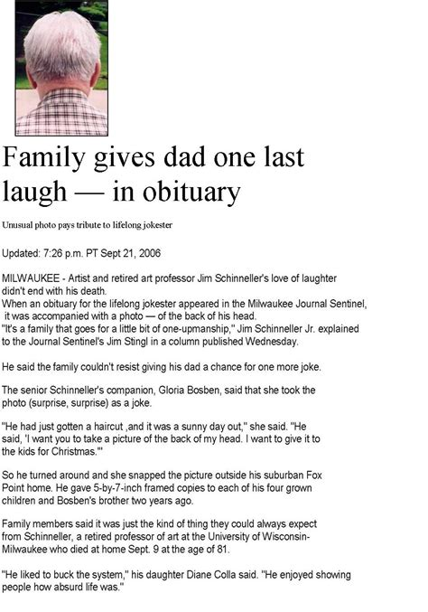 Obituaries Exles Templates by Obituary Exles Sle Obituary Make It Unique With