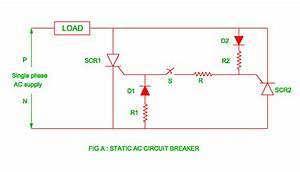 Static Ac Circuit Breaker
