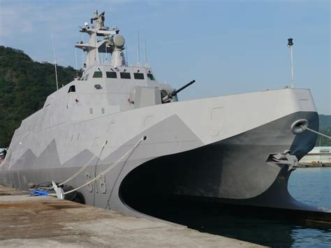 Catamaran Ship Navy by Taiwan Navy Accepts New Catamaran