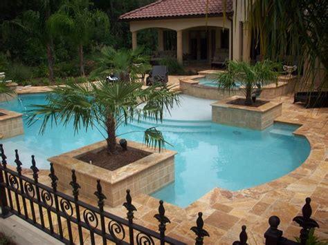 ms international tuscany scabas travertine  pool