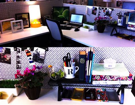 creative diy cubicle workspace ideas obsigen