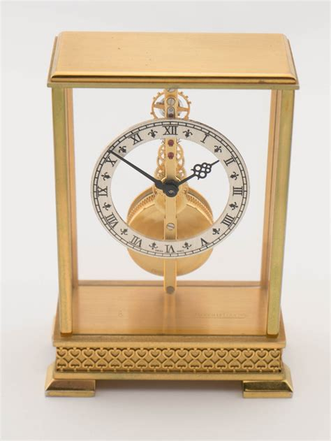 jaeger lecoultre table clock jaeger lecoultre table clock with 8 day baguette