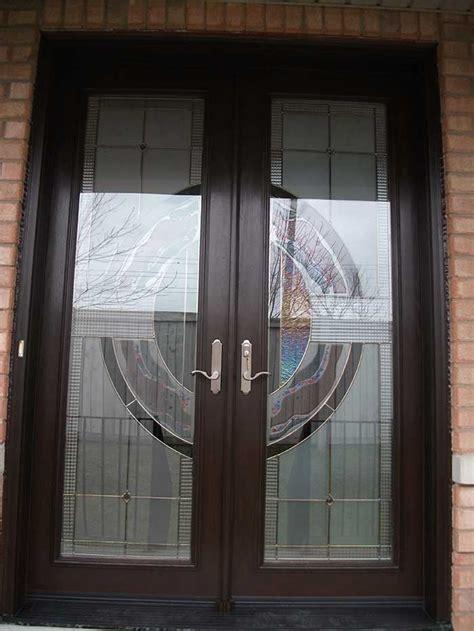 custom fiberglass exterior doors