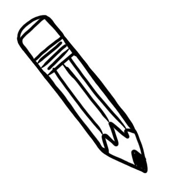 pencil clipart png black and white best pencil clipart black and white 5166 clipartion