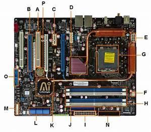 Tata Letak Komponen Pada Motherboard