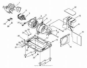 Snapper G10000 1000 Watt 2 5 Hp Portable Generator  1666
