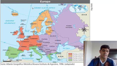 Regiões da Europa - YouTube