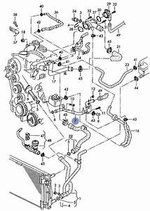 Audi A4 A6 Vw Passat 1 9tdi Coolant Pipe 038 121 065 Bh