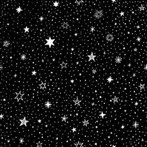 Black background with stars Vector | Free Download