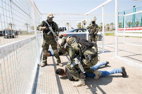 korean peacekeepers conduct counter terror training