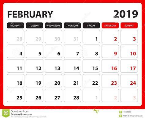 desk calendar february template printable calendar planner