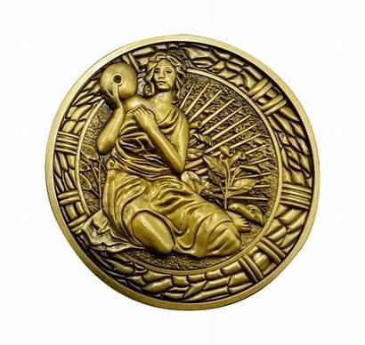 Evil Resident Maiden Medallion Replika Replica Fanattik