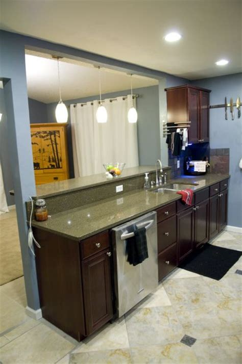 turning a galley kitchen into an open kitchen galley kitchen remodels kitchen remodel i had a really 9901
