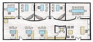 Modern Law Office Floor Plan Offices - Building Plans