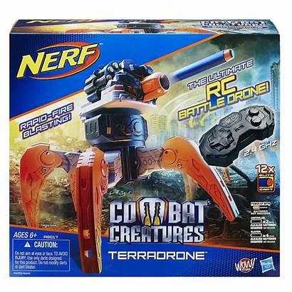 Nerf Combat Drone Terradrone Creatures Creature Strike