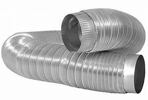 3in X 25ft Flexible Aluminum Foil Duct Exhaust Bath