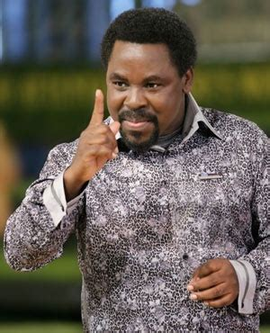 He is the leader and founder of the synagogue, church of all nations (scoan). Prophet Denies Predicting TB Joshua's Death   Daily Herald