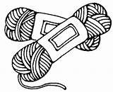 Yarn Crochet Mylot sketch template
