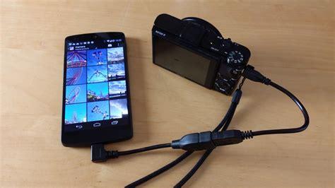 anleitung usb geraete und kameras  android smartphones und tablets anschliessen der tutonaut