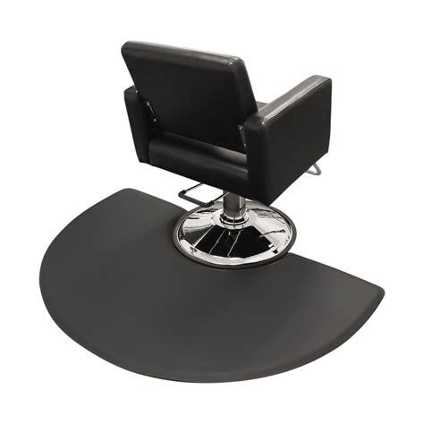 3x5 semicircle salon mat chair impression comfortmax