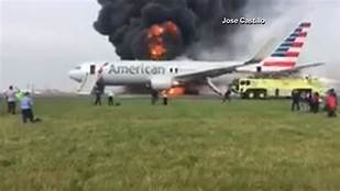 Private plane bursts into flame