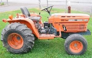 Kubota B9200hst Tractor Operator Manual Download