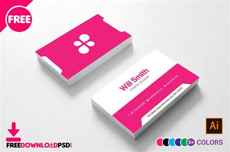 creative business card freedownloadpsdcom