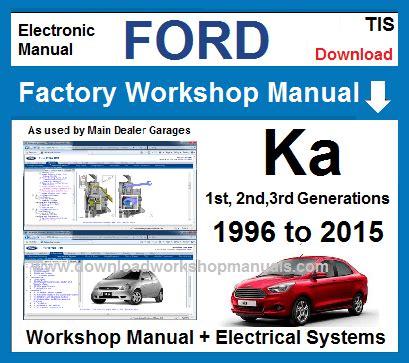 ford ka workshop repair manual