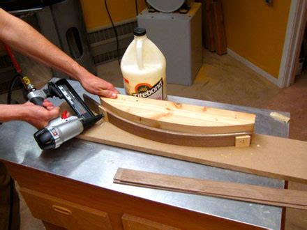 clever ways    narrow crown staple gun woodworking