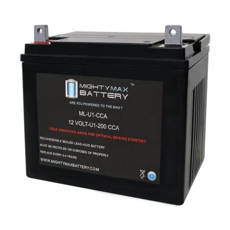 ml   cca battery  john deere   hp lawn