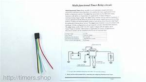 Multi-functional 12v Timer Relay  Introduction