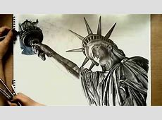 Realistic Drawing Statue of Liberty Doovi
