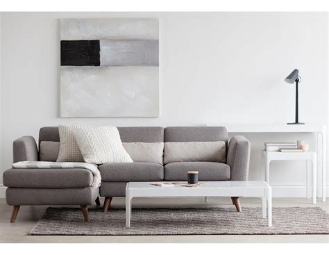 Therapy Sectional by Sectional Sofa Left Style Nordic Aesthetic