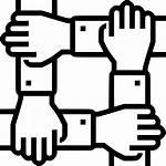 Icon Svg Collaboration Teamwork