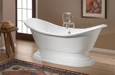 regency cast iron bath  pedestal base cheviot products