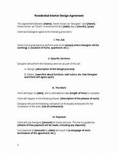interior design contract template beautiful home interiors With interior decorating contract