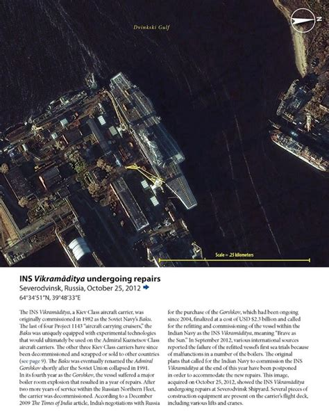 Latest Satellite Imagery Eyeballing Aircraft Carrier Ins