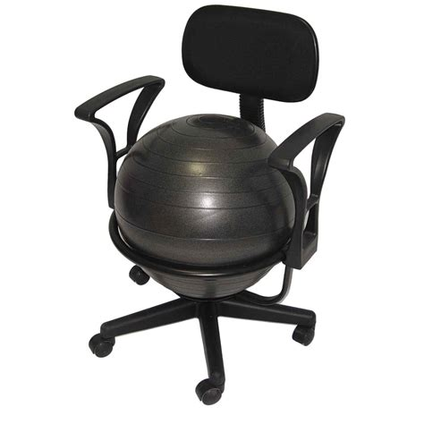Aeromat Black Deluxe Ergo Chair by Ergo Chair For Home Office