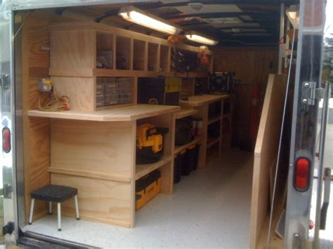 Contractor Tool Trailer Setup Thank You Everyone For The