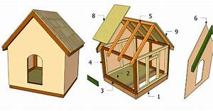 How to make a simple doghouse step by step DIY tutorial ...