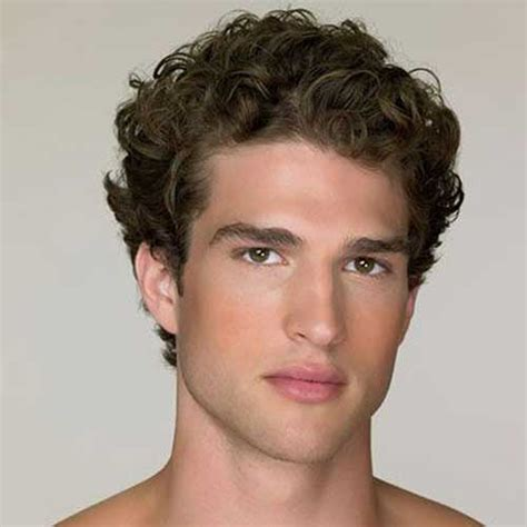 short curly hairstyles  men mens hairstyles