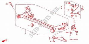 Rear Lower Arm For Honda Cars Civic 1 8 Ex 5 Doors