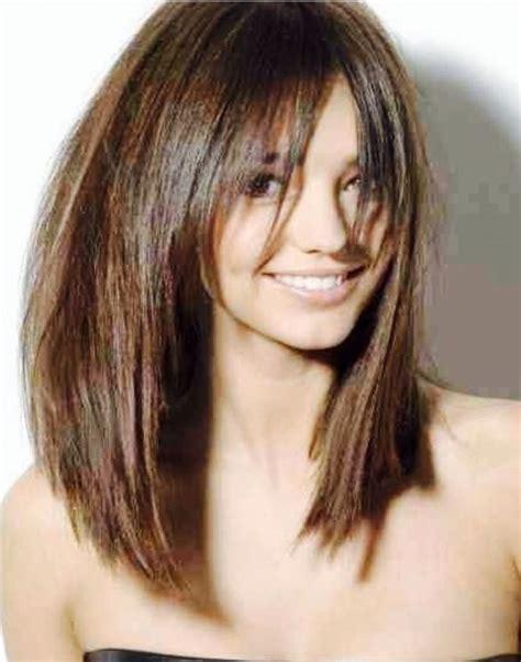 medium length bob haircut hairstyle for women man