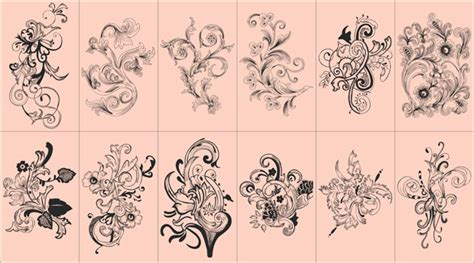 flowers vector free download free vector downloadfree