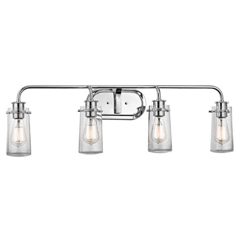 "Kichler 45460ch Chrome Braelyn 4 Light 34"" Wide Vanity"